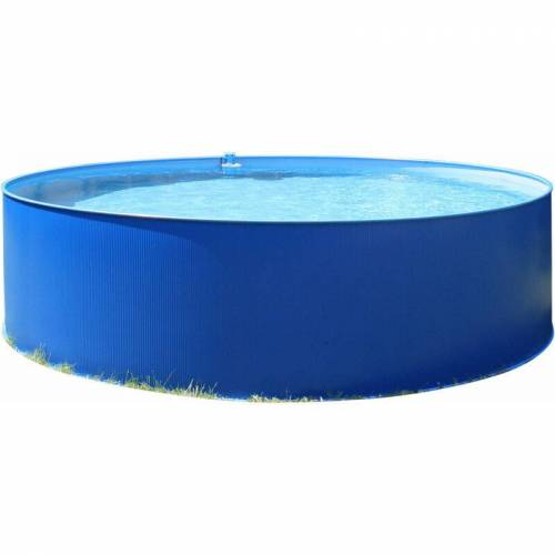 PLANET POOL Rundbecken 350x90cm BLAU