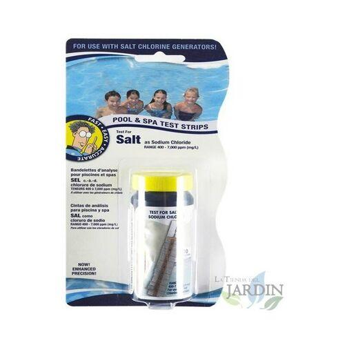 SUINGA Salzstand Teststreifen im Pool. 10 Einheiten