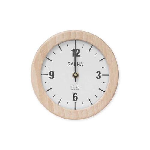 ELSÄSSER Sauna Uhr rund