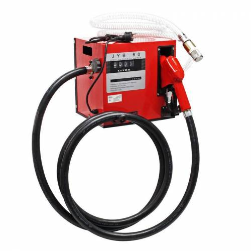 Wiltec - Selbstansaugende Dieselpumpe, 60 l/min 550W 230V,