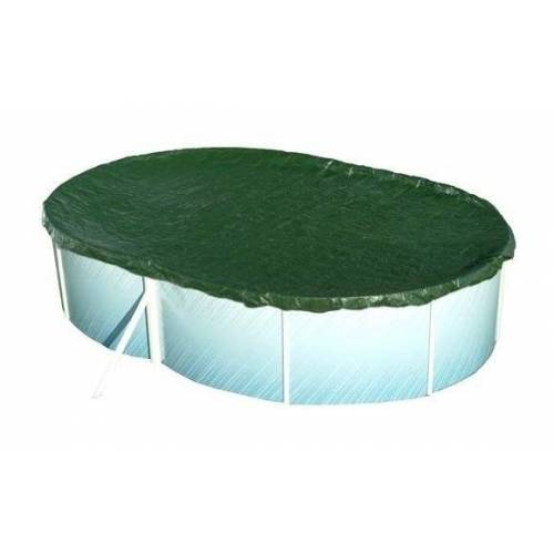 Well2wellness - Pool Abdeckung Achtform 855 x 500cm