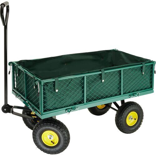Tectake - Bollerwagen max. 350kg - Handwagen, Leiterwagen, Bollerwagen