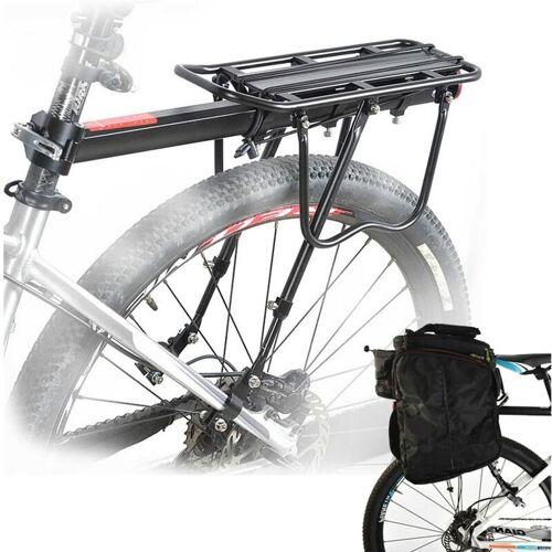 UNHO Fahrradgepäckträger für hinter, Fahrrad Gepäckträger mit Schnellspanner