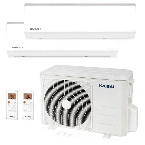 KAISAI FLY Multisplit Wandgerät 2 x 2,6 kW Duo Set EEK: A+/A - Kaisai