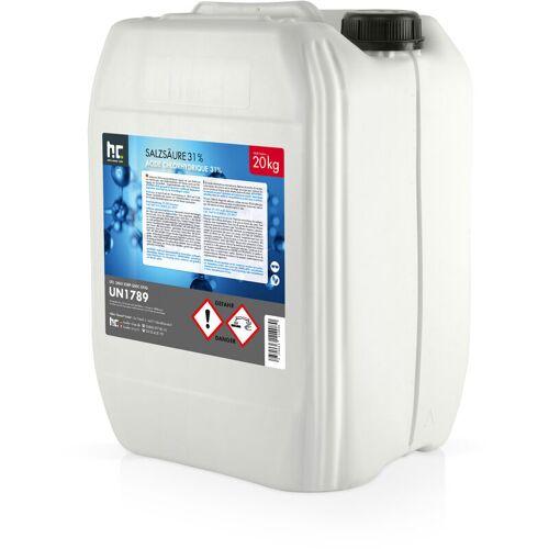 HöFER CHEMIE 4 x 20 kg Salzsäure 29-32%