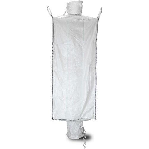 ASUP 10x Big Bag 91 x 91 x 200 cm, Einlauf und Auslauf, SWL 1.500 kg