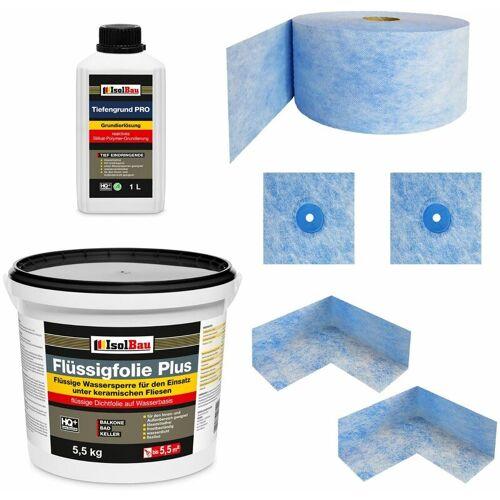 ISOLBAU Dicht-Set 'Standard' 5,5 kg für Duschabdichtung Badabdichtung