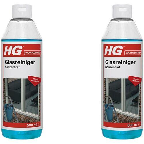 HG Fensterputzer - Fensterreiniger für schlierenfrei saubere Fenster 2x