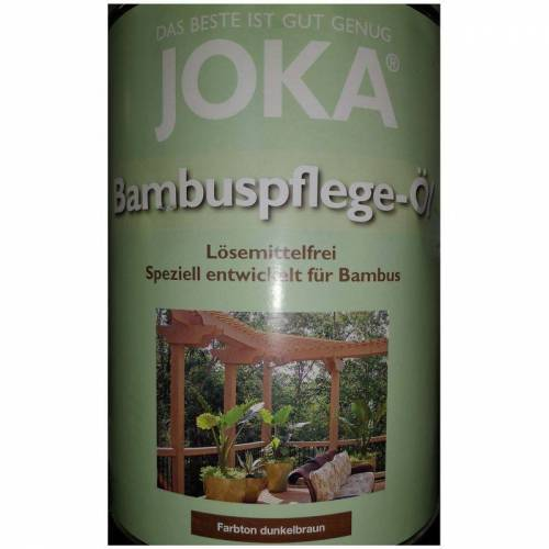 JOKA besondere Pflege Öl Bambus 2.5L - Färbung dunkelbraun - Joka