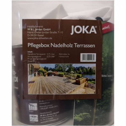 JOKA Kit Holzdeck Wartung von Koniferen - Joka