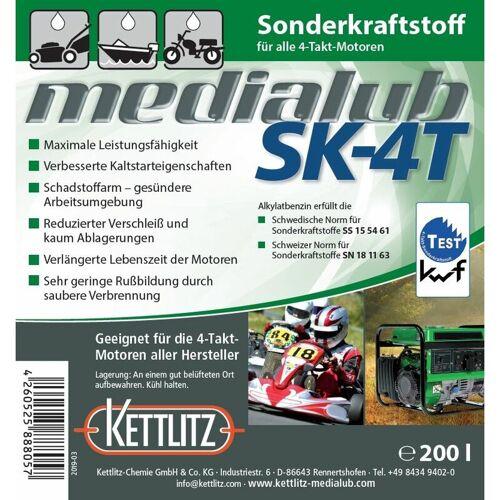 KETTLITZ-Medialub SK-4 T - 4 Takt Sonderkraftstoff 200 Liter