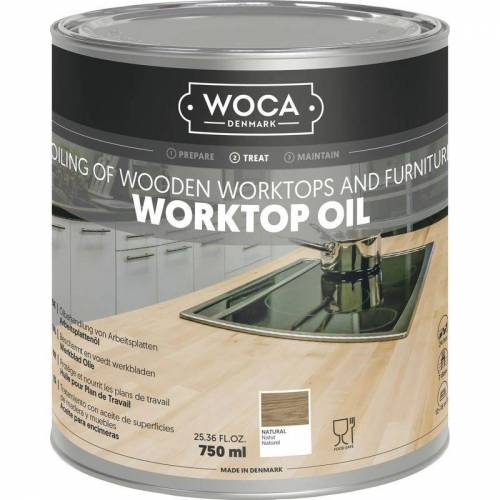 WOCA Arbeitsplattenöl natur 0,75 Liter - Woca