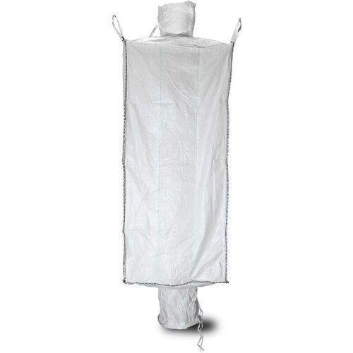 ASUP 5x Big Bag 91 x 91 x 200 cm, Einlauf und Auslauf, SWL 1.500 kg