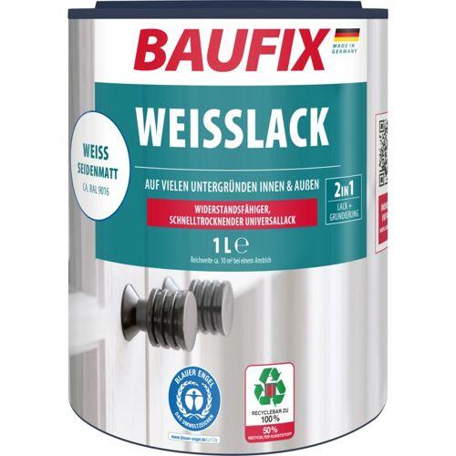 BAUFIX Weißlack seidenmatt 1 L - Baufix