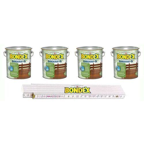 PPG-BONDEX Bondex BigPack XL 4x Bangkirai Öl Bangkirai 4 Liter
