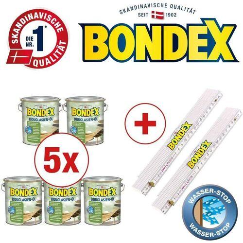PPG-BONDEX Bondex BigPack XXL 5x Douglasien Öl Douglasie 4 Liter