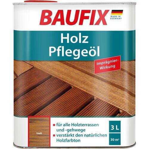 BAUFIX Holz-Pflegeöl teak 3 L