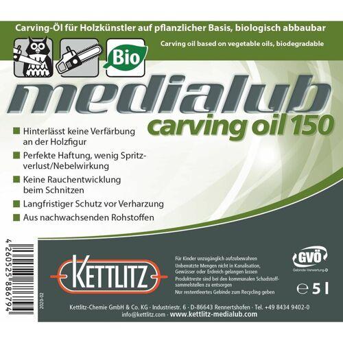 KETTLITZ-Medialub Carving Oil 150 - Bio Kettenöl für Holzschnitzer