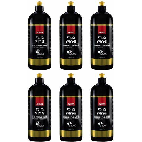RUPES Pack mit 6 Polituren D-A FINE (6 x 1000 ml) - Rupes