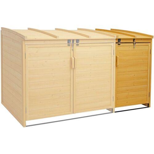 HHG XL 1er-/2er-Mülltonnenverkleidung Erweiterung 019, Mülltonnenbox,