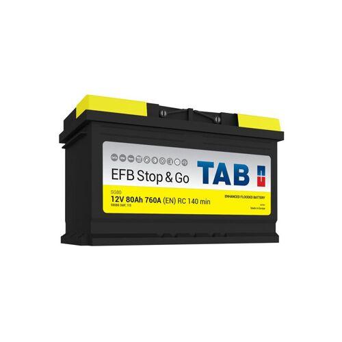 TAB Starterbatterie Start & Stop EFB SG80 L4 12V 80Ah 760A - TAB