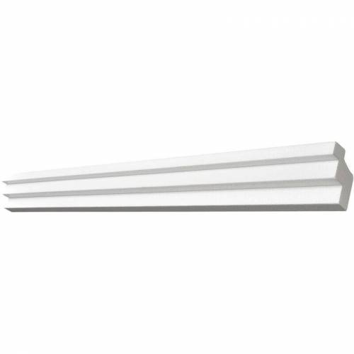 DECOSA® Decosa ® - Decosa Lichtleiste G36 (Kristine), weiss, 38 x 48 mm Laenge