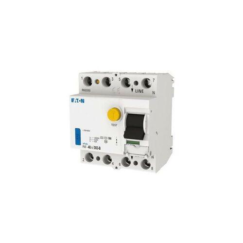 Eaton - FI-Schutzschalter B 4p 400V 40A 0,03A 4TE REG DIN-Schiene(REG)