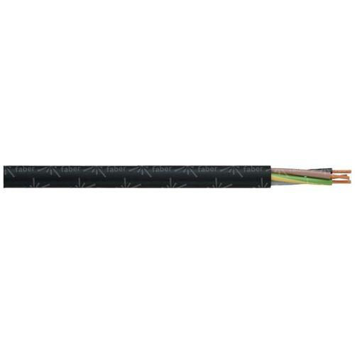 FABER KABEL 030019 Schlauchleitung H05VV-F 3G 1mm² Weiß 50m Y799251 - Faber Kabel