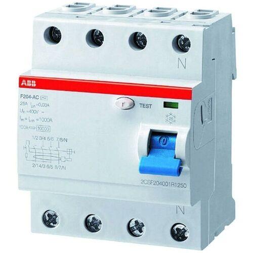 ABB - FI-Schutzschalter A 4p 400V 40A 0,3A 4TE REG DIN-Schiene(REG)