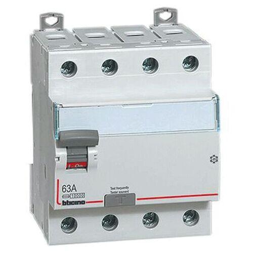 BTICINO Fi-schutzschalter Rein Bticino 4-Polig 63A 30mA Typ A, 4 Module