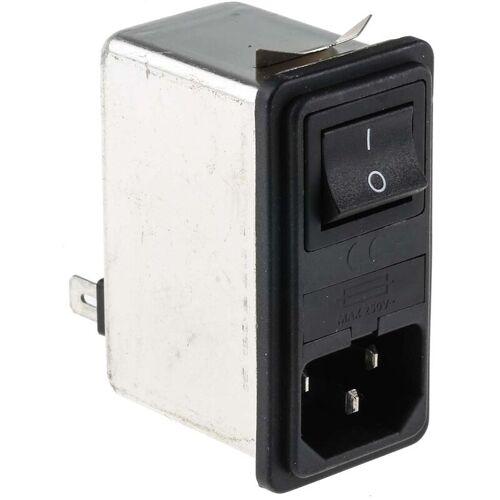 RS PRO IEC Gerätestecker mit Filter 1 Sicherung Sicherungen, mit