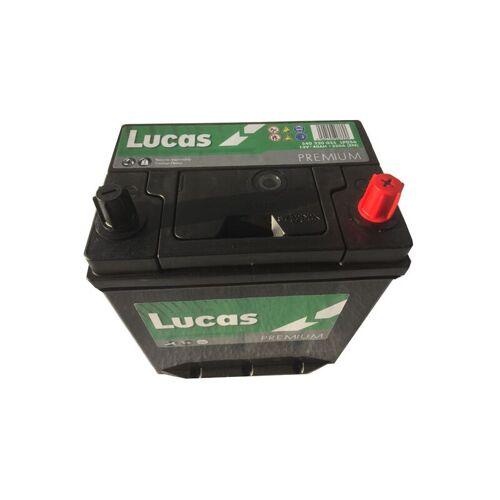 Lucas Premium-Starter-Batterie 12V 40Ah LP056 B19 / 350A