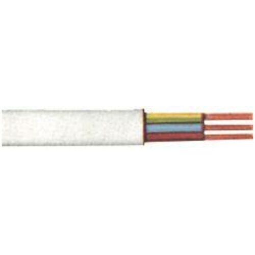 KABELEXPRESS PVC-Schlauchleitung H05VV-F3G1,0 mm2, 10m-Ring, weiß - Kabelexpress