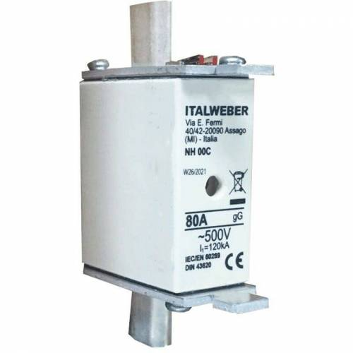 ITW SPIT - Sicherung der messer Italweber NH 00C standard-kurve gG 80A 500V