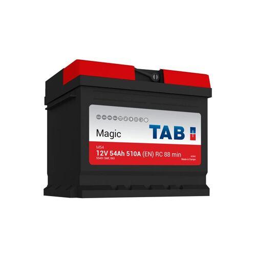TAB Startup Magie Autobatterie 12V 55Ah 510A M54 L1B - TAB
