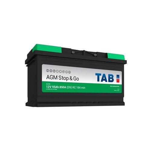 TAB Starterbatterie TAB Start & Stop AGM 12V 95Ah 850A L5 AG95