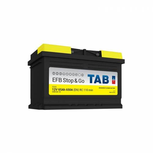 TAB Starterbatterie Start & Stop EFB L3B SG65 12V 65Ah 650A - TAB