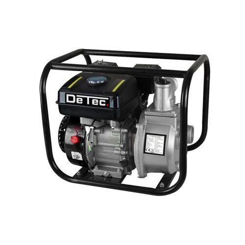 DETEC. 2' Zoll Gartenpumpe mit Benzinmotor   Wasserpumpe mit 30.000 L/h