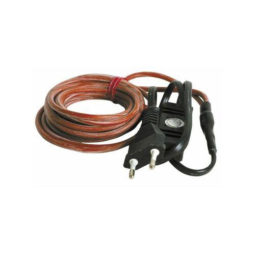 DIFF Kabel 3m 220V mit Steckdose und Thermostat