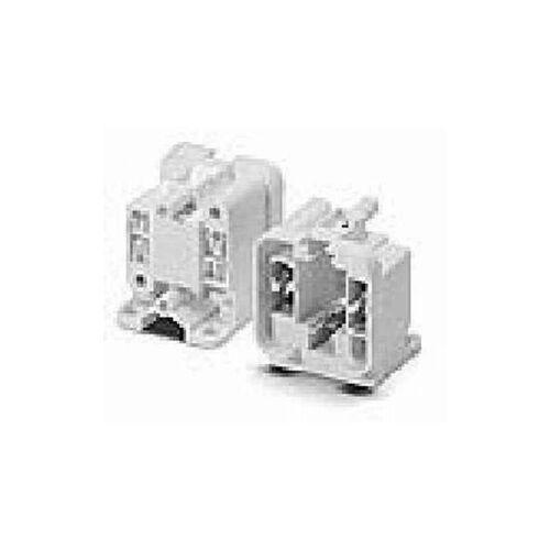 VOSSLOH Fassung G24q-2 PLT/C 18 seitlich+rueckseit 4 Pin - Vossloh