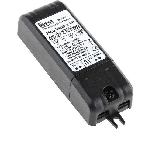 RS PRO Leuchtentransformator 230 ? 240V ac, 11.5 V 10 ? 60W Elektronik