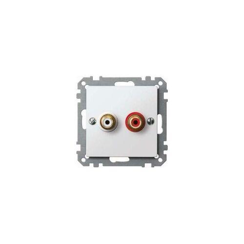 Merten Steckdose pws/gl MEG4350-0319