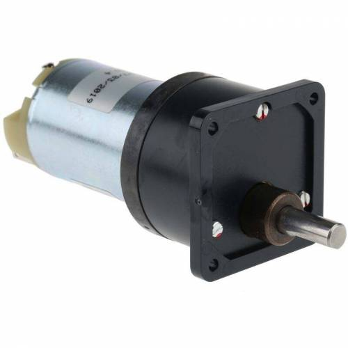 RS PRO 60:1 DC-Getriebemotor, Typ M. Bürsten u. Getriebe, 12 V dc, 20 Ncm,
