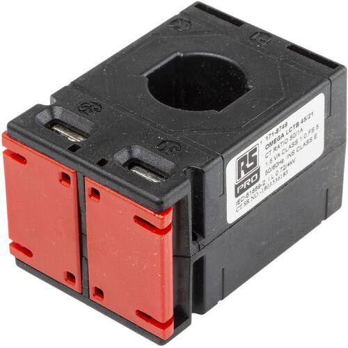 RS PRO 50:1 Stromwandler, Leiter-Ø 21 x 10mm, 45mm x 40mm x 65mm - Rs Pro