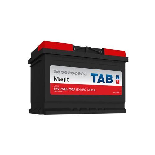 TAB Starterbatterie TAB Magie Auto 12V 75Ah 750A L3 M75H