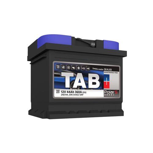 TAB Starterbatterie TAB Polar S 12V 45Ah 400A L1B S45X ganz links