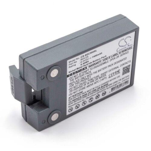 VHBW NiMH Akku 1400mAh (6V) passend für Messgerät Lasermessgerät Sokkia Set