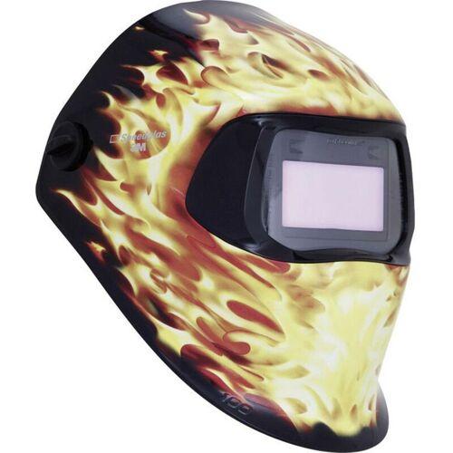 Speedglas 100V Blaze 7100166708 Schweißerschutzhelm Schwarz, Flame EN