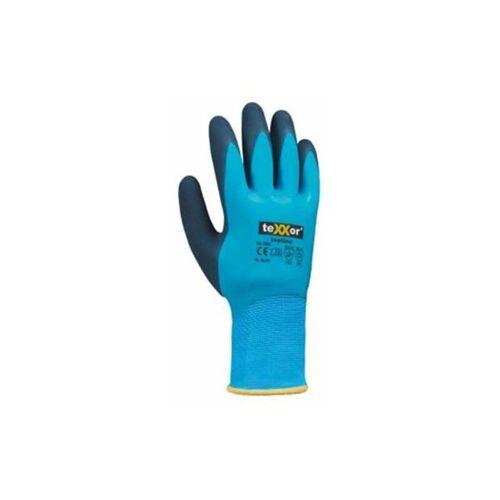 TEXXOR topline Latex Winter-Handschuh blau 2228_8 Gr.8 - Texxor