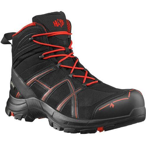 HAIX Black Eagle Safety 40.1 mid/black-red Praktische Arbeitskleidung: